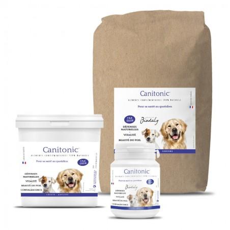 Seau et kraft du produit Canitonic